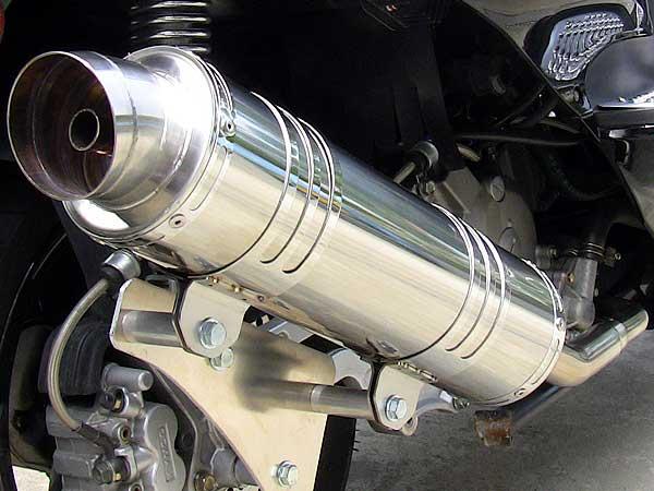【Racing Shop Yokota】RSY Little Bomb 不銹鋼全段排氣管:FORZA (MF06)用 - 「Webike-摩托百貨」