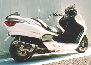 【Racing Shop Yokota】RSY Big Horn 黑色碳纖維全段排氣管:FORZA (MF08)用 - 「Webike-摩托百貨」