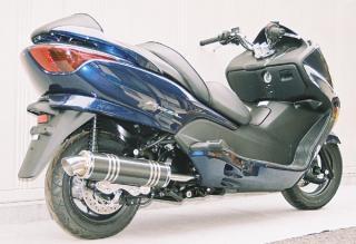 【Racing Shop Yokota】RSY Little Bomb 黑色碳纖維全段排氣管:FORZA (MF08)用 - 「Webike-摩托百貨」