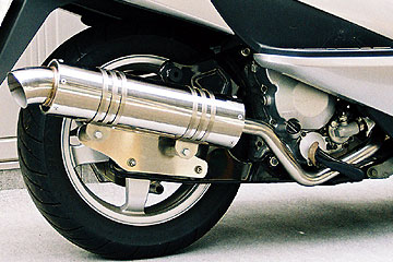 【Racing Shop Yokota】RSY Little Bomb 全段排氣管:Skywave 250 (CJ42A)用 - 「Webike-摩托百貨」