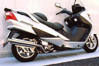 【Racing Shop Yokota】RSY Big Horn 不銹鋼全段排氣管:Skywave 250(CJ43A)用 - 「Webike-摩托百貨」