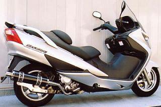 【Racing Shop Yokota】RSY Big Horn 黑色碳纖維全段排氣管:EPSILON 250(CJ43B)用 - 「Webike-摩托百貨」