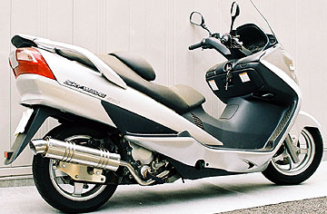 【Racing Shop Yokota】RSY Little Bomb 不銹鋼全段排氣管:EPSILON 250 (CJ43B)用 - 「Webike-摩托百貨」