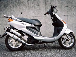 【Racing Shop Yokota】RSY EURO 全不銹鋼膨脹室排氣管:Grand Axis 100 (SB01J) - 「Webike-摩托百貨」