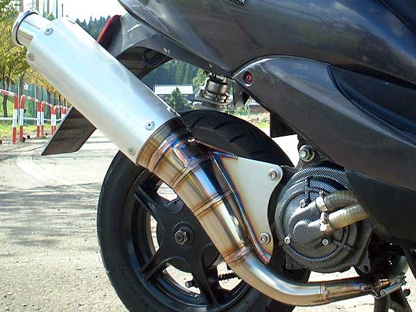 【Racing Shop Yokota】RSY Sport 全不銹鋼全段排氣管:Jog ZII・JOG ZII(SA16J)用 - 「Webike-摩托百貨」