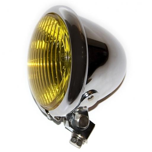 【Motor Rock】 Bates 頭燈用 黃色鏡片 - 「Webike-摩托百貨」
