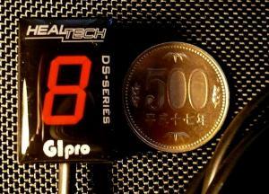 【HEALTECH ELECTRONICS】GIpro-X D01 檔位顯示器藍色款 - 「Webike-摩托百貨」
