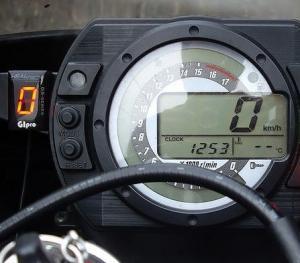 【HEALTECH ELECTRONICS】KAWASAKI GIpro DS-K01檔位顯示器白色款=限定色 - 「Webike-摩托百貨」
