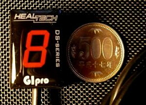 【HEALTECH ELECTRONICS】GIpro-X D02 檔位顯示器紅色款 - 「Webike-摩托百貨」