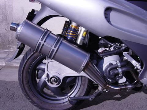 【CRAFTMAN】Runner  鈦合金 橢圓型 全段排氣管 (VXR 200用) - 「Webike-摩托百貨」