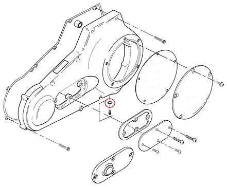 【GUTS CHROME】一次側傳動洩油螺絲 O環 - 「Webike-摩托百貨」