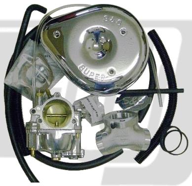 【GUTS CHROME】S&S E化油器套件 - 「Webike-摩托百貨」