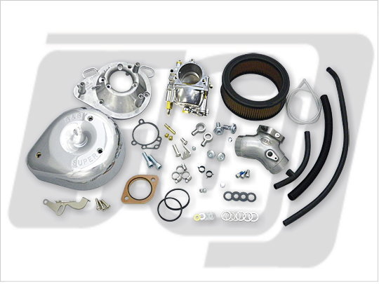 【GUTS CHROME】S&S G化油器套件 雙凸輪軸用 - 「Webike-摩托百貨」