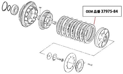 【GUTS CHROME】鋼製離合器壓板組 - 「Webike-摩托百貨」