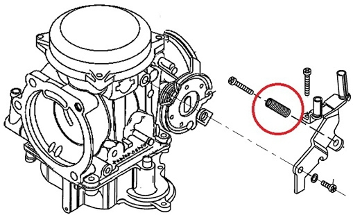 【GUTS CHROME】CV化油器用 怠速螺絲彈簧 - 「Webike-摩托百貨」