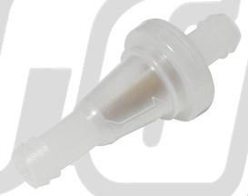 【GUTS CHROME】透明汽油濾清器 8Φ(5/16) - 「Webike-摩托百貨」