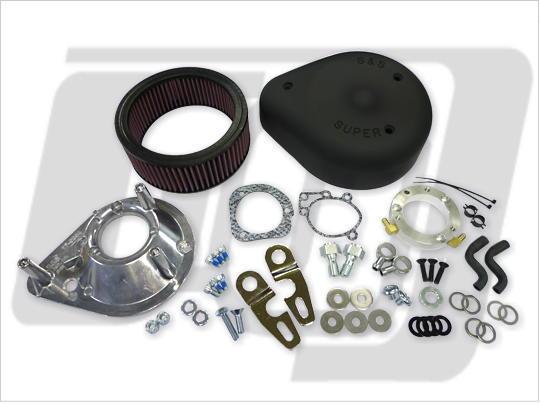 【GUTS CHROME】S&S 空氣濾清器套件 (黑色) XL - 「Webike-摩托百貨」