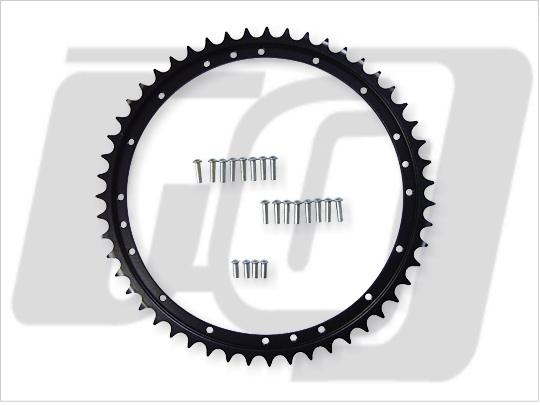 【GUTS CHROME】51T後齒盤 (BT液壓鼓式煞車用) - 「Webike-摩托百貨」