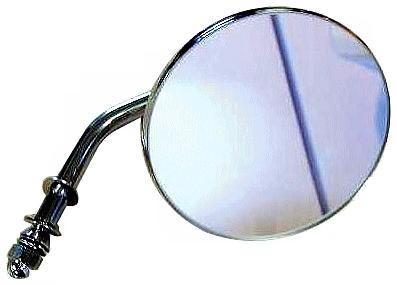 【GUTS CHROME】4吋 圓型後視鏡 - 「Webike-摩托百貨」