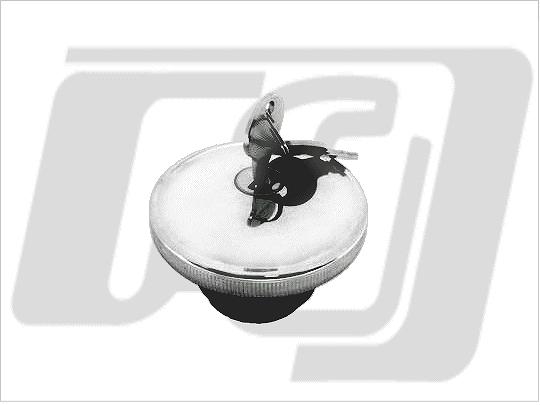 【GUTS CHROME】附鎖螺牙式油箱蓋 (右側 通風) - 「Webike-摩托百貨」