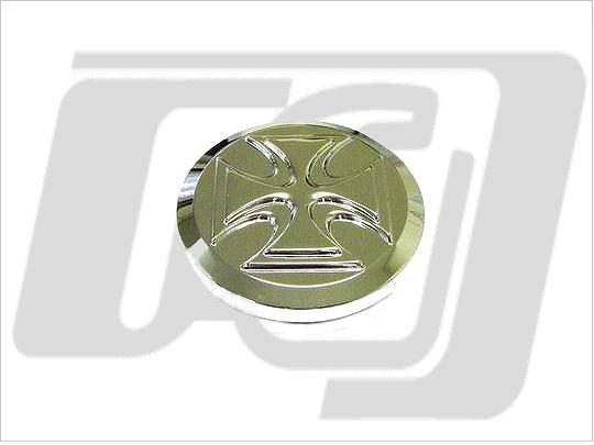 【GUTS CHROME】Cross 螺牙式油箱蓋 (無通氣) - 「Webike-摩托百貨」