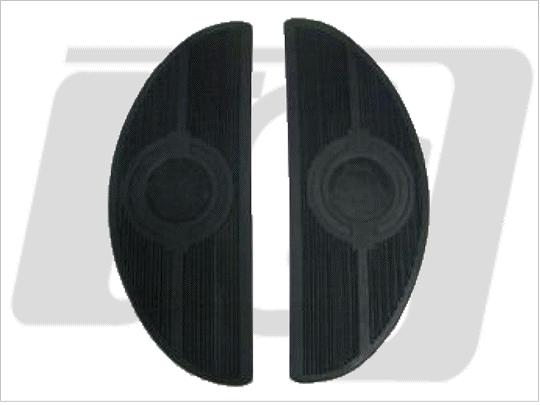 【GUTS CHROME】腳踏板橡皮 橢圓型 組 - 「Webike-摩托百貨」