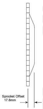 【GUTS CHROME】前齒盤 24T - 「Webike-摩托百貨」