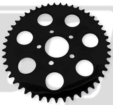 【GUTS CHROME】後齒盤 49T - 「Webike-摩托百貨」