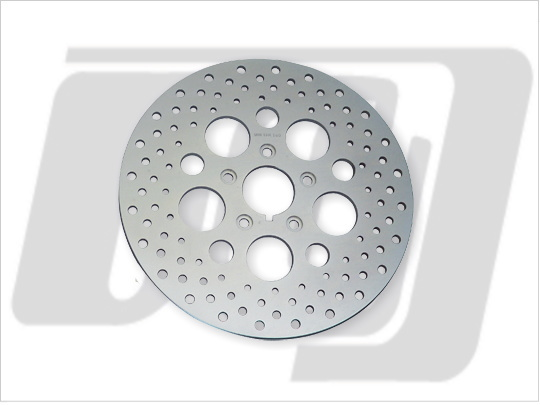 【GUTS CHROME】11.5吋 打孔型前煞車碟盤 (鋼製) - 「Webike-摩托百貨」