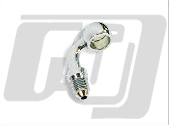【GUTS CHROME】油管接頭 12mm 90度 (電鍍) - 「Webike-摩托百貨」