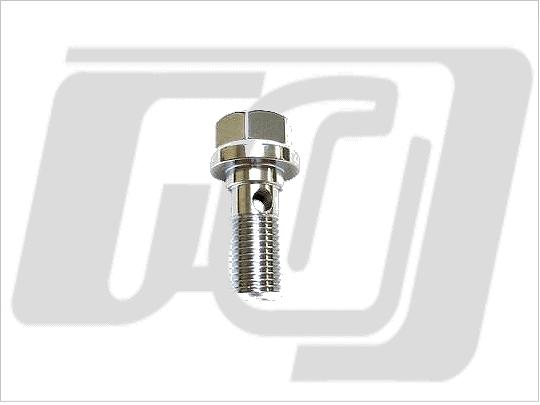 【GUTS CHROME】油管接頭螺絲 3/8 (鏡面電鍍) - 「Webike-摩托百貨」