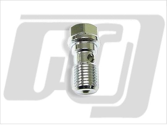 【GUTS CHROME】油管接頭螺絲 12mm (鏡面電鍍) - 「Webike-摩托百貨」