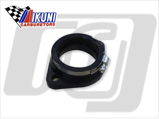 【GUTS CHROME】MIKUNI製 HSR45用 法蘭轉接頭 - 「Webike-摩托百貨」