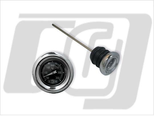 【GUTS CHROME】注油塞型油温計 - 「Webike-摩托百貨」
