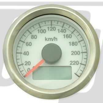 【GUTS CHROME】機械式可調式速度錶 - 「Webike-摩托百貨」