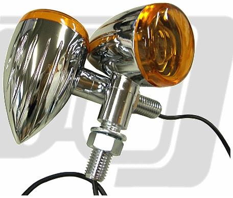 【GUTS CHROME】Slit Barrett方向燈組 - 「Webike-摩托百貨」