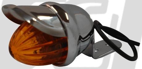 【GUTS CHROME】Small 燈眉定位燈 - 「Webike-摩托百貨」