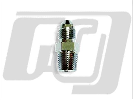 【GUTS CHROME】1/8吋 NPT 轉接頭 (電鍍) - 「Webike-摩托百貨」