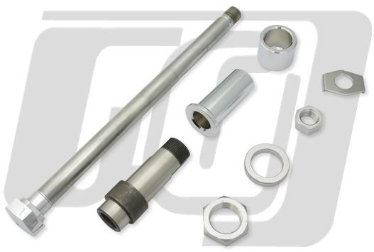 【GUTS CHROME】電鍍後輪軸軸芯套件 - 「Webike-摩托百貨」