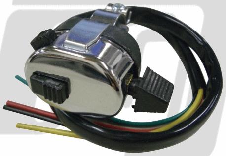 【GUTS CHROME】通用型方向燈開關 - 「Webike-摩托百貨」
