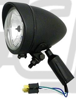 【GUTS CHROME】頭燈 (Long Body) - 「Webike-摩托百貨」