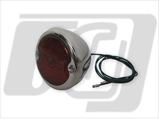 【GUTS CHROME】1933-36 Duo Ford 尾燈 (電鍍) - 「Webike-摩托百貨」