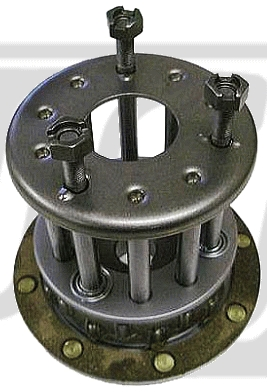 【GUTS CHROME】3螺柱離合器中心轂套件 - 「Webike-摩托百貨」
