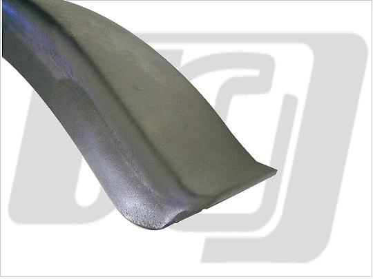 【GUTS CHROME】Flat 土除 (6吋 Bob) - 「Webike-摩托百貨」