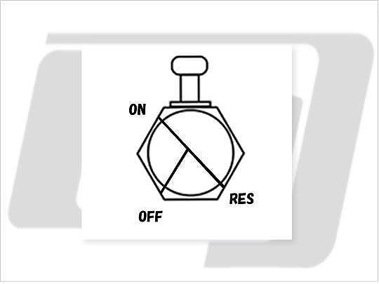 【GUTS CHROME】3/8 NPT 六角型油杯開關90度 (前) - 「Webike-摩托百貨」
