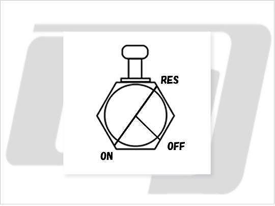 【GUTS CHROME】3/8 NPT 六角型油杯開關90度 (後) - 「Webike-摩托百貨」