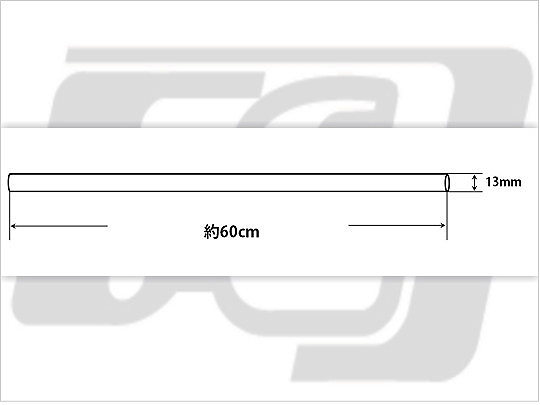 【GUTS CHROME】製作用 鋼製實心棒 13mm - 「Webike-摩托百貨」