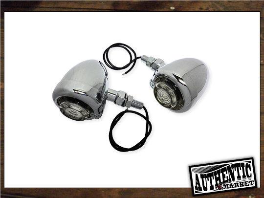 【GUTS CHROME】Guide Type 方向燈組 (電鍍 透明燈殼) - 「Webike-摩托百貨」