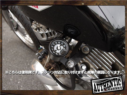 【GUTS CHROME】AM 原廠型速度錶 48mm 1:1 (黑色) - 「Webike-摩托百貨」