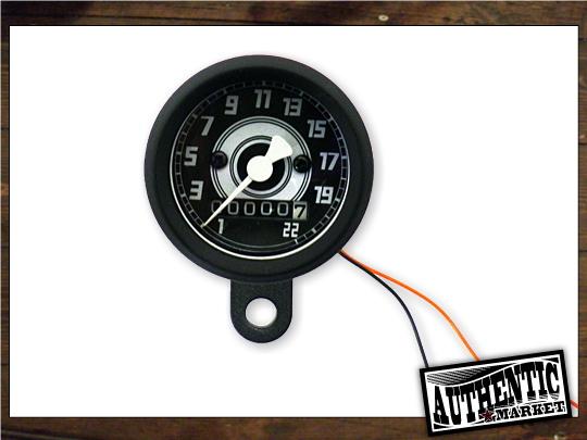 【GUTS CHROME】AM 原廠型速度錶 48mm 2:1 (黑色) - 「Webike-摩托百貨」